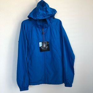 Scottevest Windbreaker 19 Pocket Hooded Zip Jacket